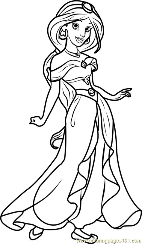 disney princess jasmine coloring pages disney couples coloring pages at getcoloringscom free disney jasmine coloring pages princess