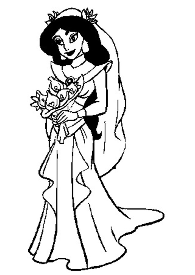 disney princess jasmine coloring pages princess coloring pages free download on clipartmag pages jasmine princess disney coloring