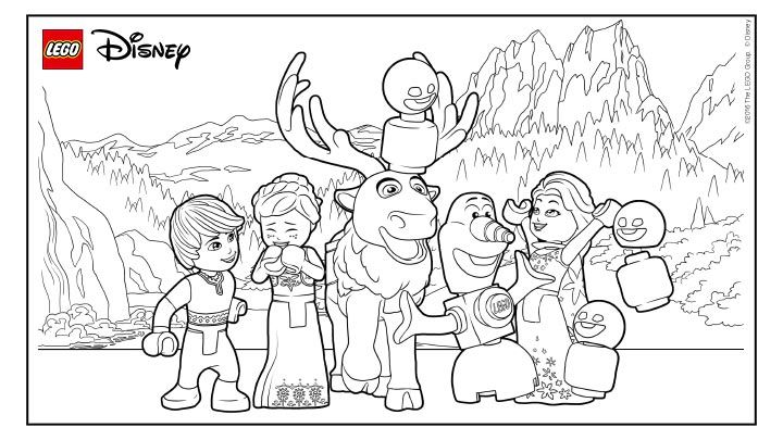 disney princess lego coloring pages have lots of fun with frozen lego coloring sheets lego princess coloring pages disney