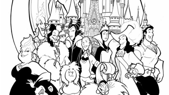 disney villains coloring book coloring page disney villain cafe by witchin on deviantart villains coloring book disney