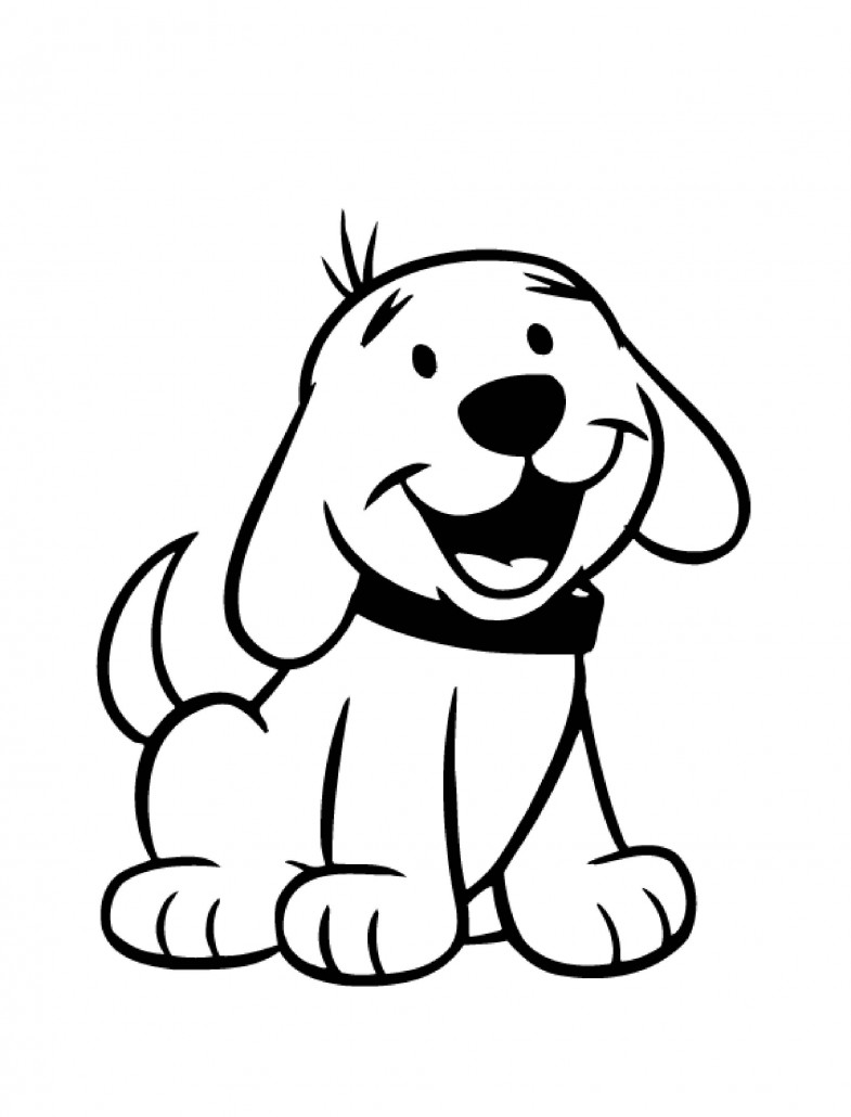 dog coloring pages for toddlers dog coloring pages for kids preschool and kindergarten coloring dog pages toddlers for