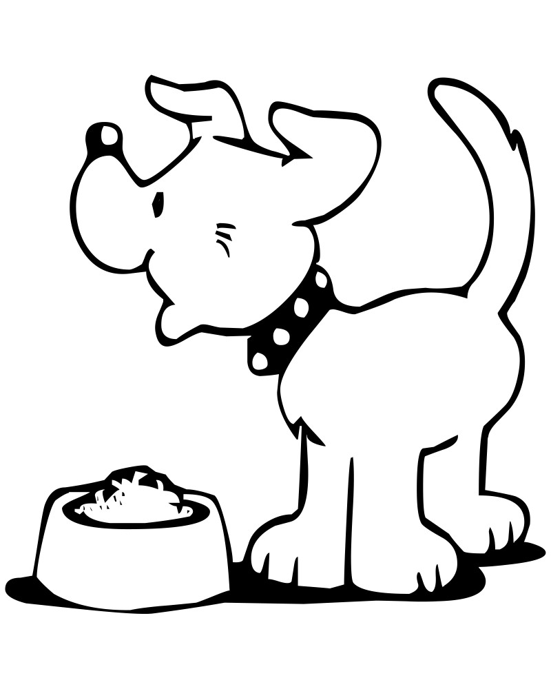 dogs colouring dog coloring pages for kids preschool and kindergarten dogs colouring