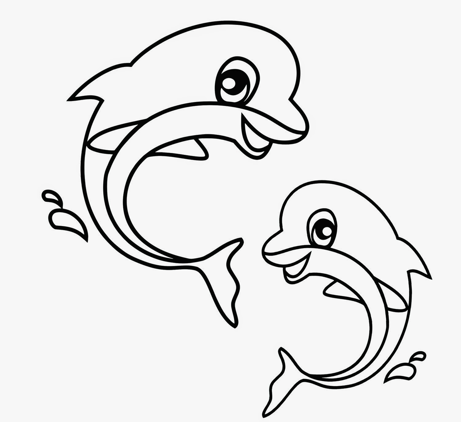 dolphin cartoon coloring pages free easy to print dolphin coloring pages in 2020 pages dolphin coloring cartoon