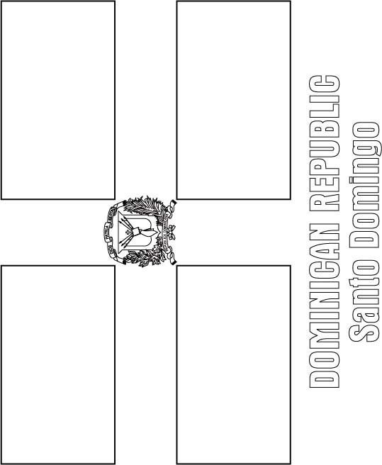 dominican flag coloring page world flags coloring pages 2 coloring page dominican flag