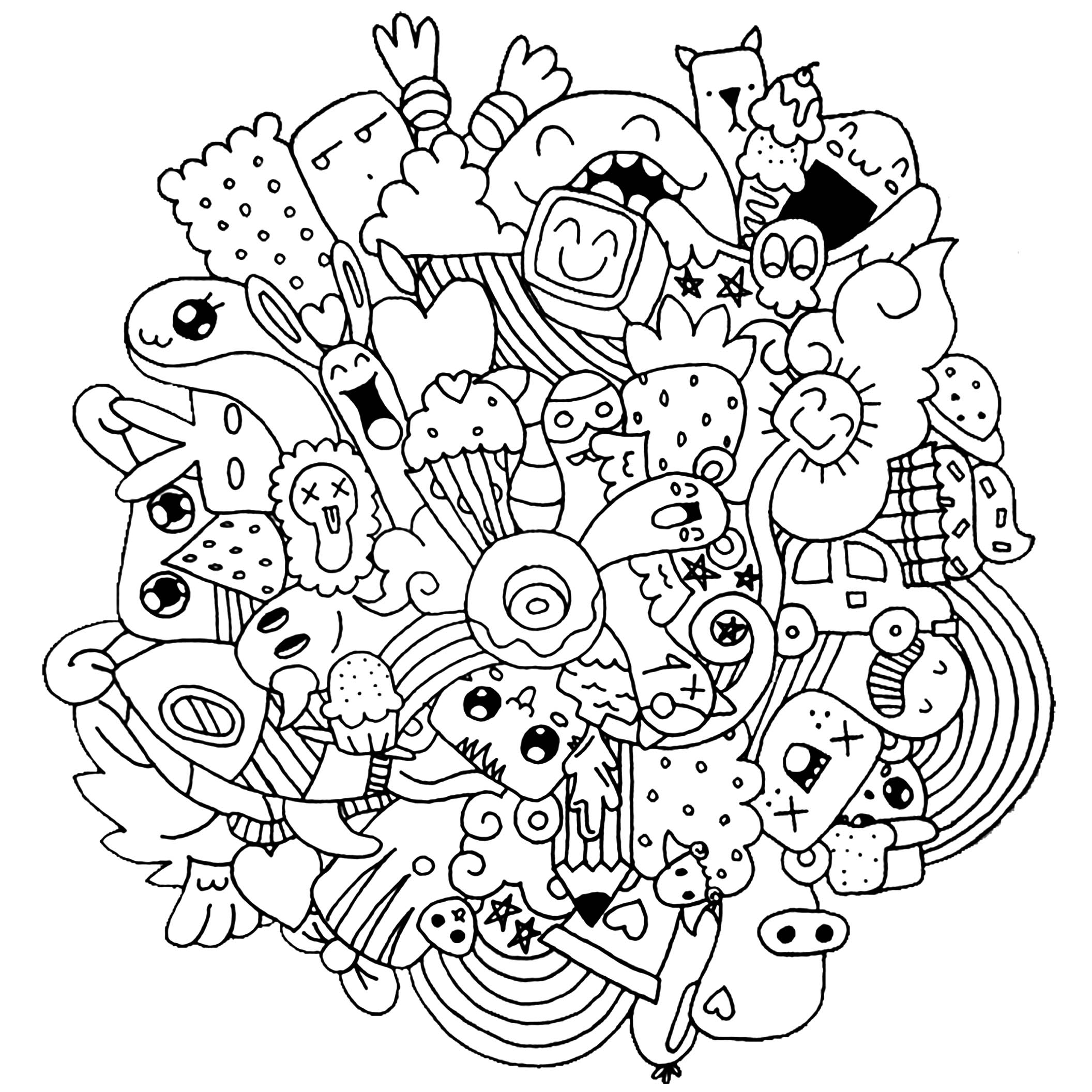 doodle coloring pages doodle coloring pages best coloring pages for kids pages coloring doodle