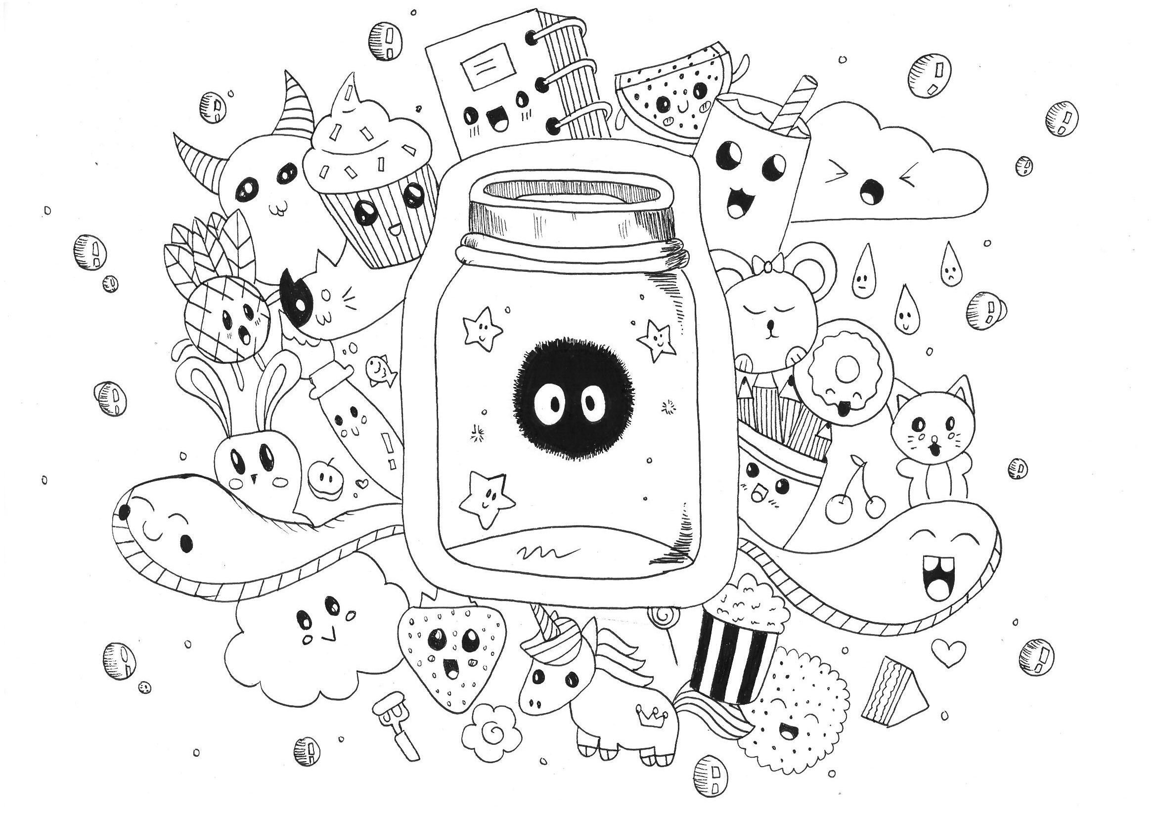 doodle coloring pages free colouring pages lj knight pages doodle coloring