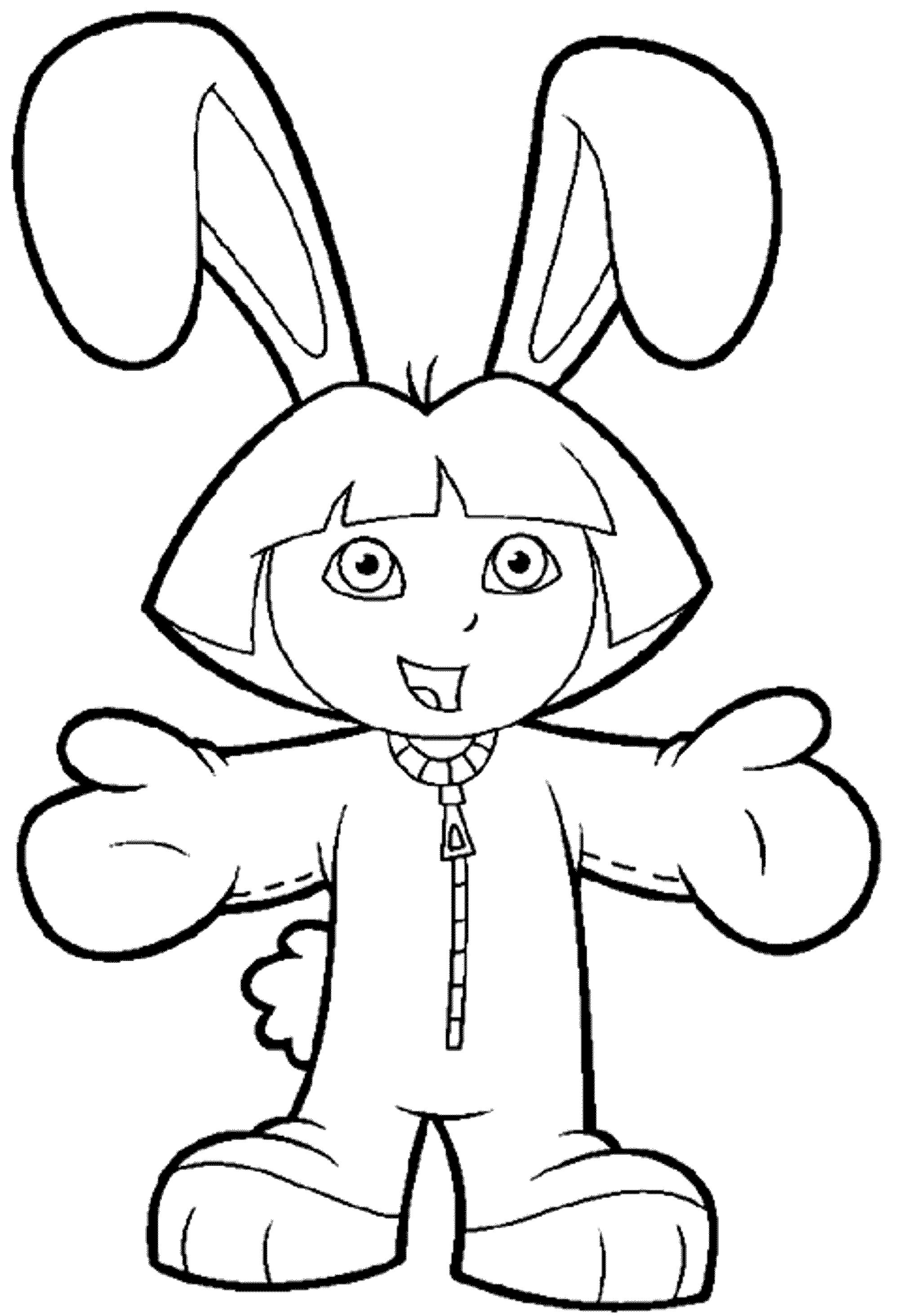 dora colouring print download dora coloring pages to learn new things dora colouring 1 1