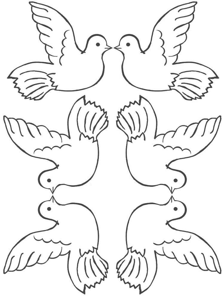 doves coloring pages dove coloring pages download and print dove coloring pages coloring doves pages
