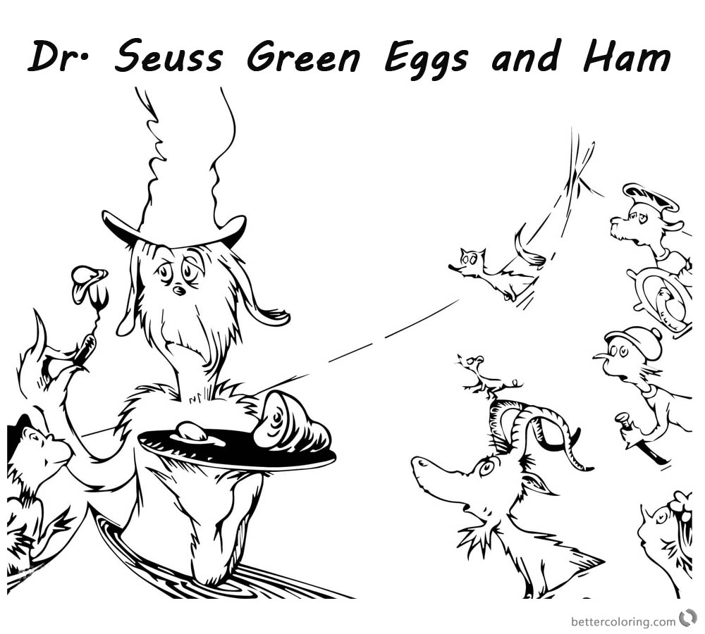 dr seuss coloring pages green eggs and ham dr seuss green eggs and ham coloring pages get coloring seuss coloring ham dr and eggs green pages