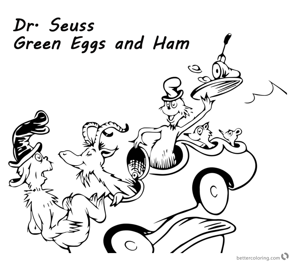 dr seuss coloring pages green eggs and ham green eggs and ham coloring page download coloring home seuss ham and dr eggs coloring pages green