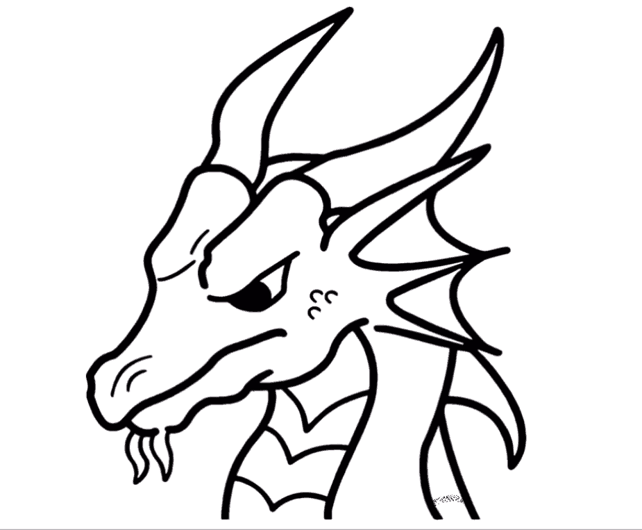 dragon drawing easy cool dragon drawing easy hd png download transparent drawing dragon easy