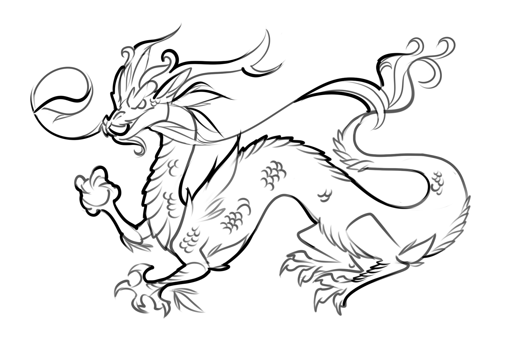 dragon drawing easy dragon coloring pages printable activity shelter easy dragon drawing