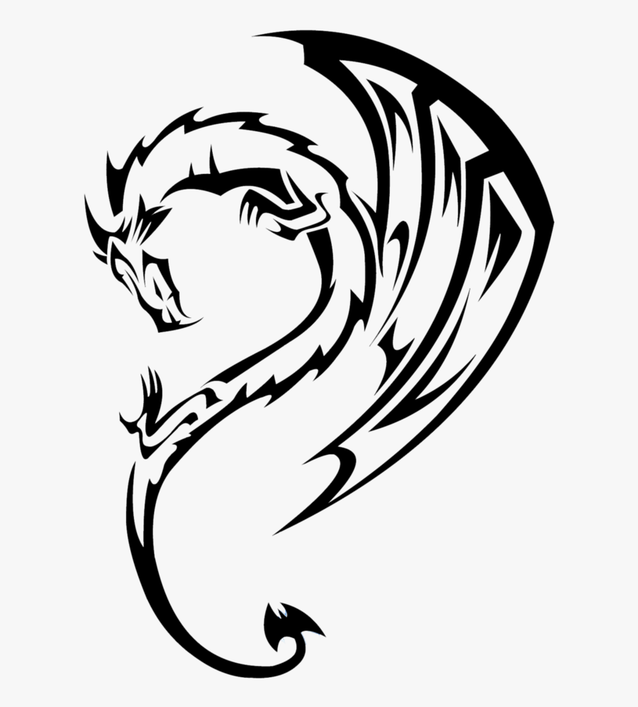 dragon drawing easy simple dragon outline free download on clipartmag easy drawing dragon