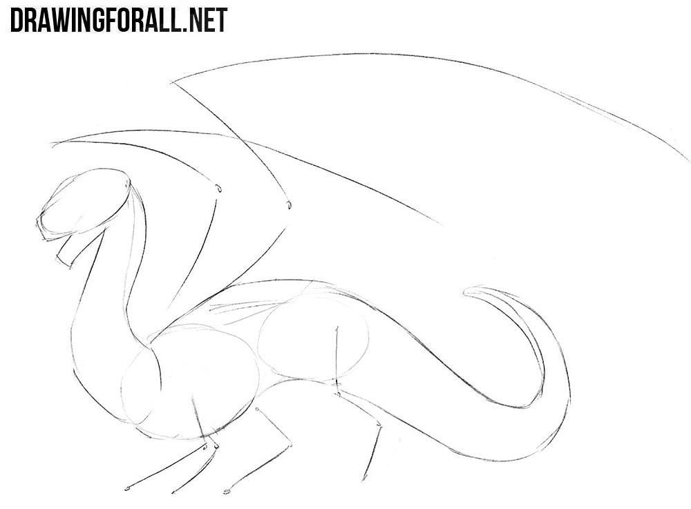 dragon drawing easy simple fire breathing dragon drawing at paintingvalleycom easy drawing dragon