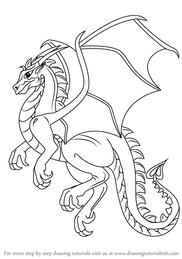 dragon drawing easy simple how to draw dragon easy drawings easy dragon drawing
