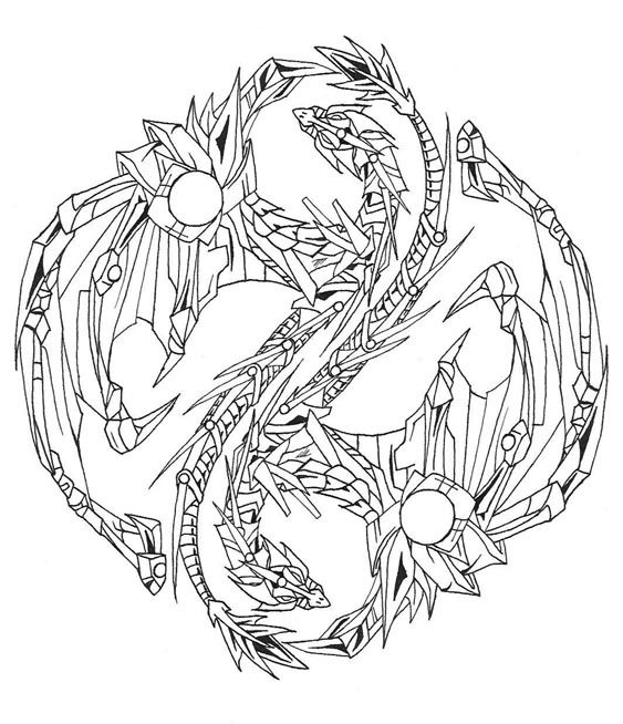 dragon yin yang coloring pages 17 best images about dragon coloring on pinterest baby coloring dragon pages yin yang
