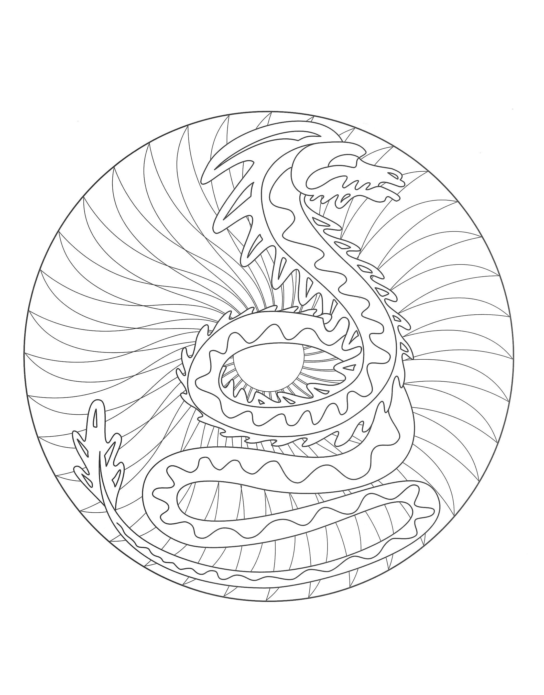 dragon yin yang coloring pages malvorlagen yin yang meaning zeichnen und färben dragon coloring pages yin yang