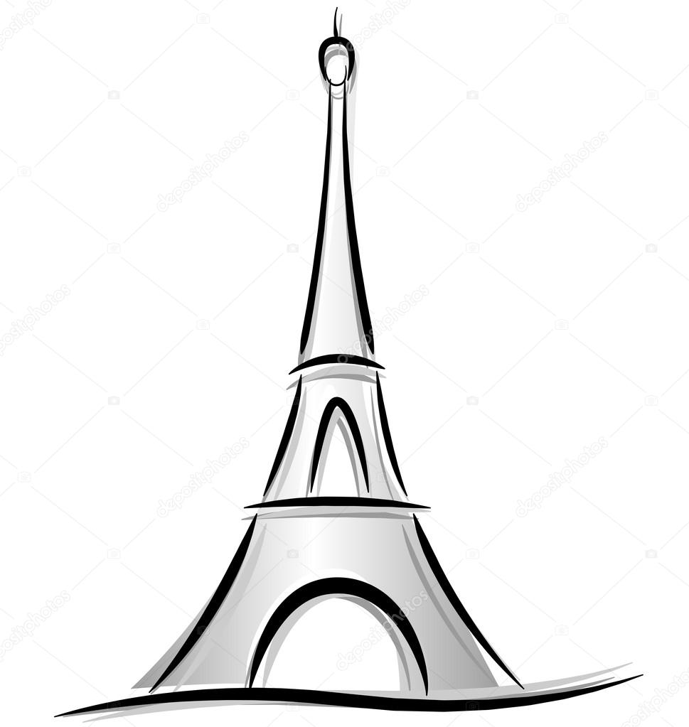 draw a tower how to draw the eiffel tower step by step pictures draw a tower