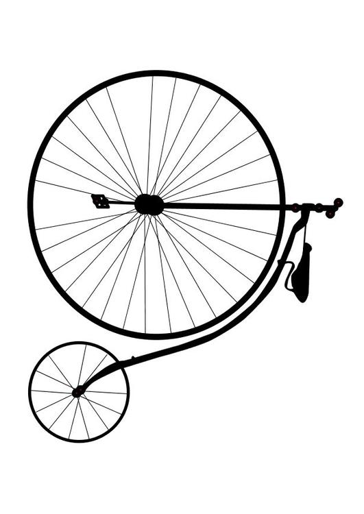 draw bike old bicycle drawing free download on clipartmag bike draw 1 1