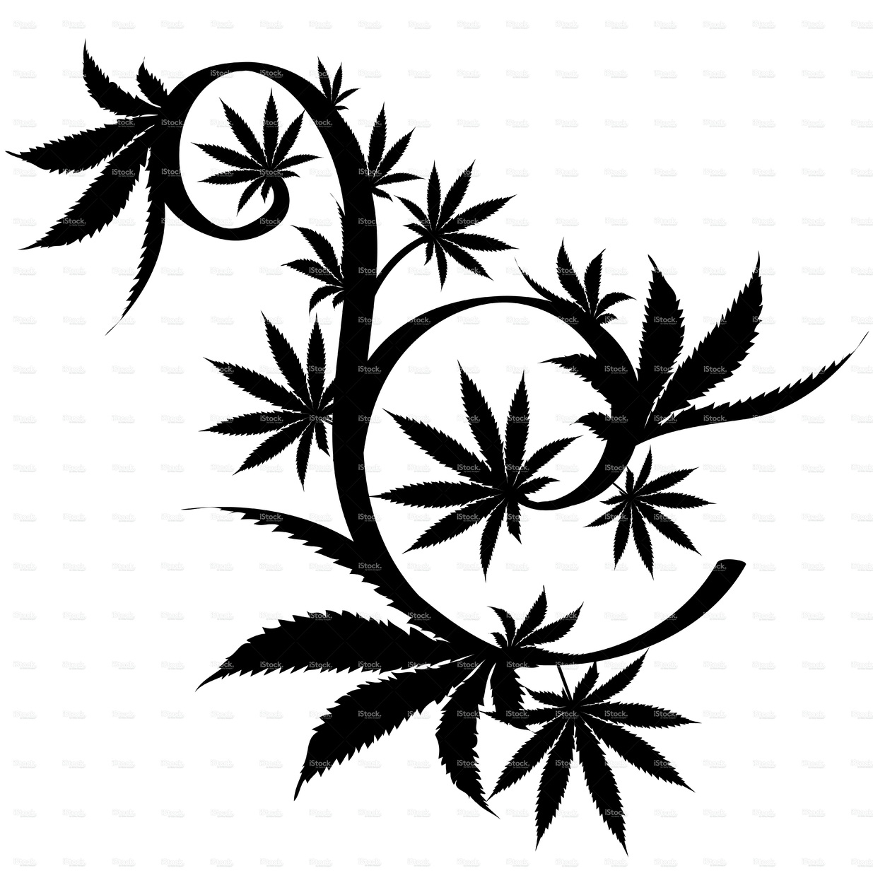 draw weed leaf weed plant drawing free download on clipartmag weed leaf draw
