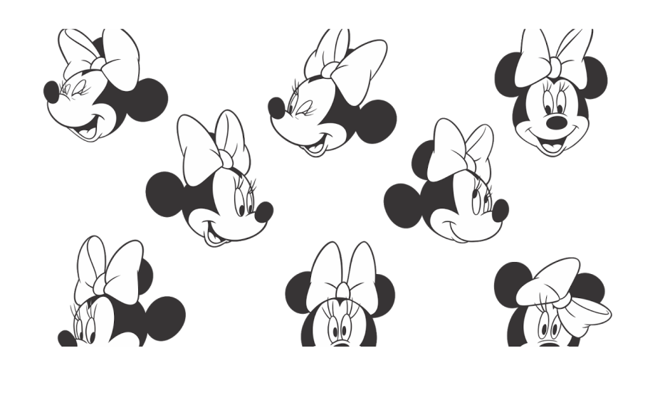 drawing minnie mouse face minnie mouse black white logo vector face minnie mouse mouse face minnie drawing