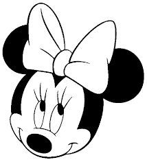 drawing minnie mouse face minnie mouse face coloring pages at getcoloringscom face mouse drawing minnie