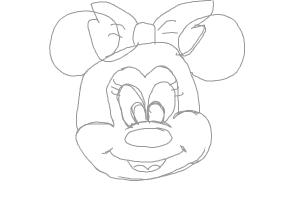 drawing minnie mouse face minnie mouse face free download on clipartmag face minnie drawing mouse