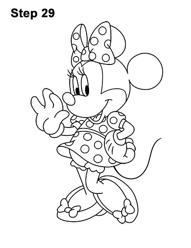 drawing minnie mouse face old minnie mouse look down face coloring page mouse face minnie drawing
