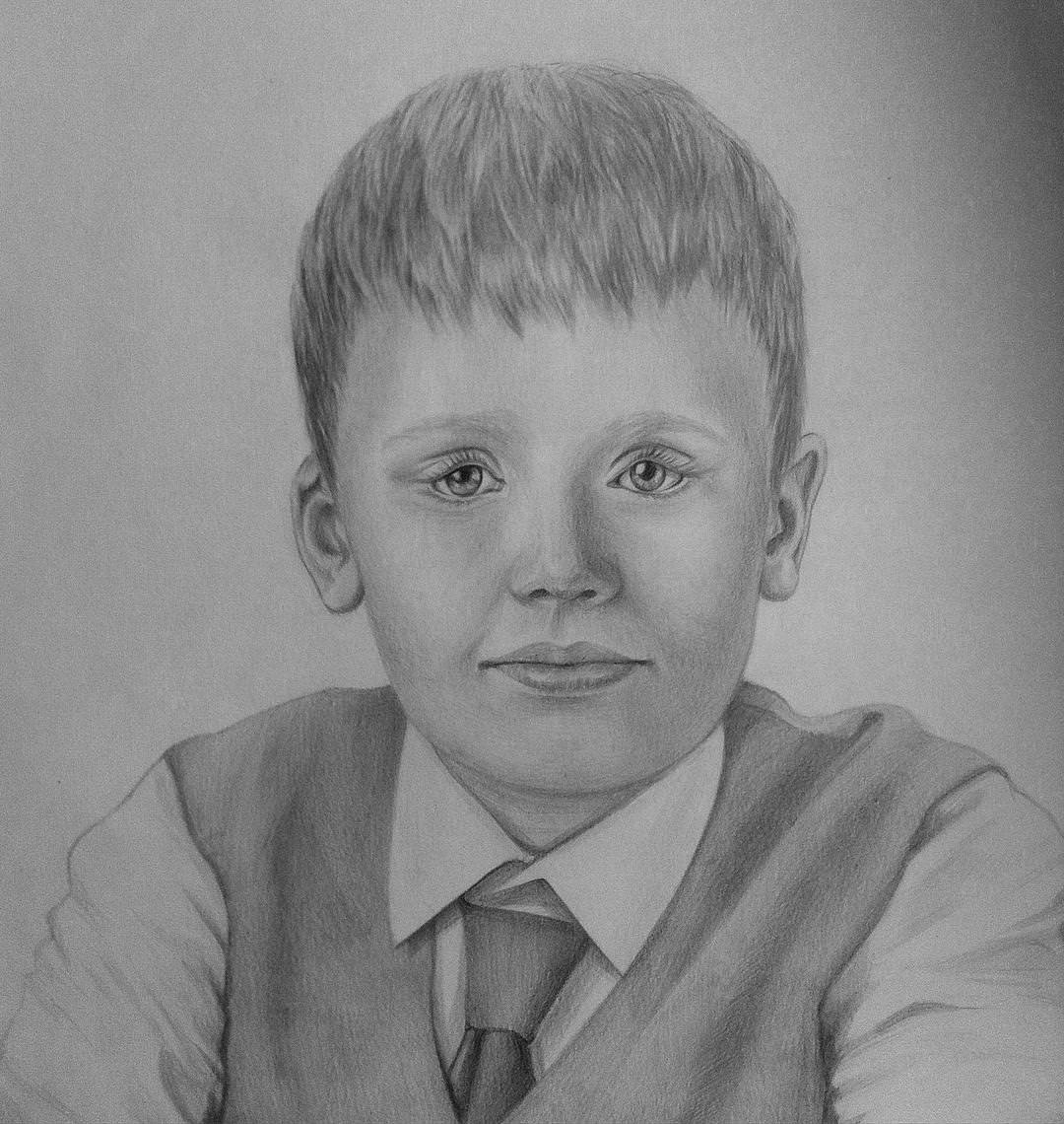 drawing of a boy primary boy standing of a boy drawing