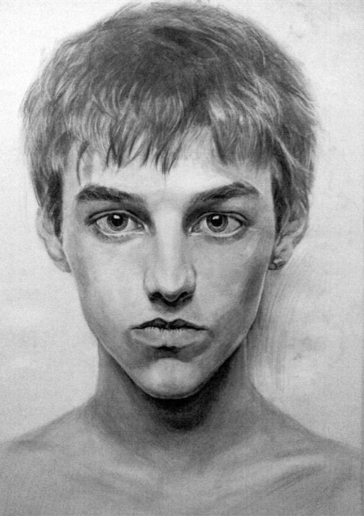 drawing of a boy studyfaceyoung boy by jingjer on deviantart a boy drawing of