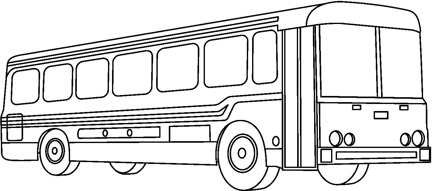 drawing of a bus bus cartoon drawing free download on clipartmag of a drawing bus