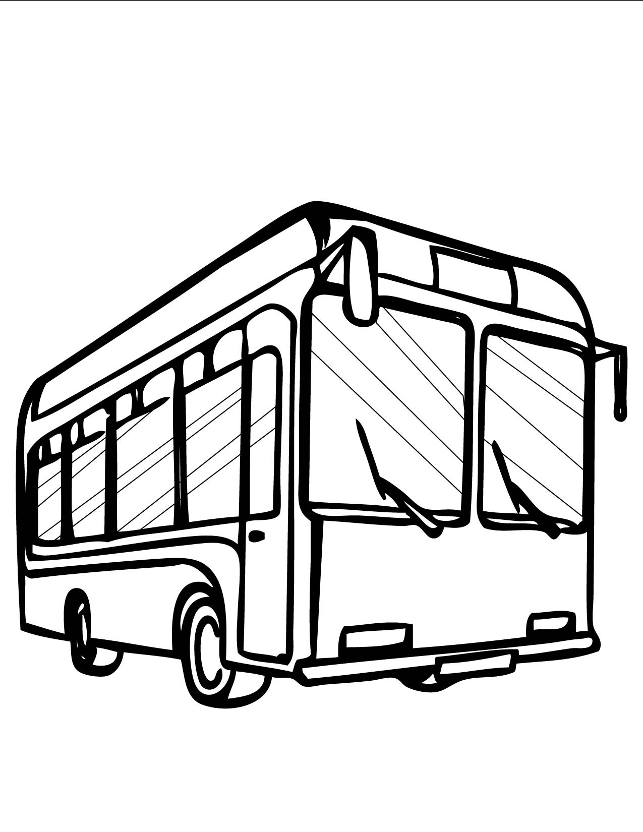drawing of a bus school bus line drawing at getdrawings free download drawing a bus of