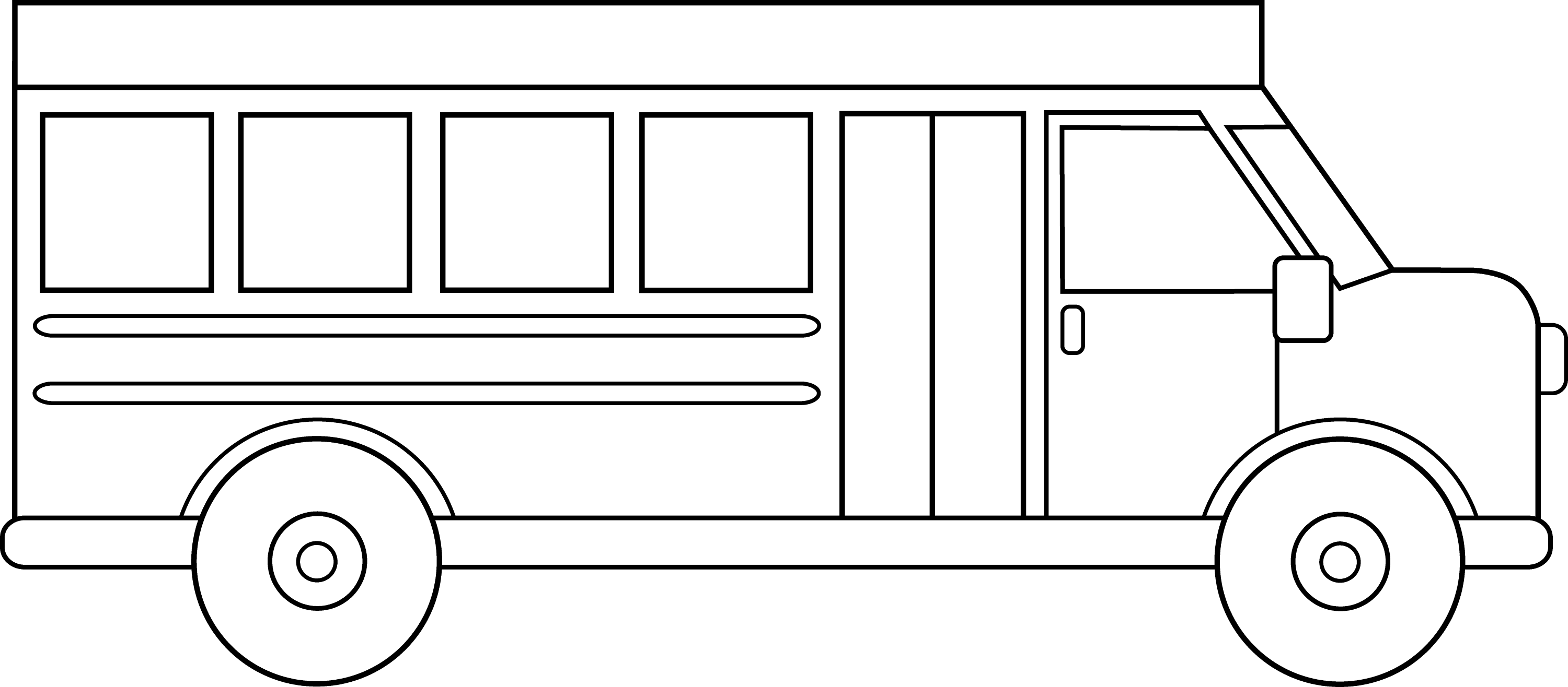 drawing of a bus school bus line drawing at getdrawings free download drawing of a bus