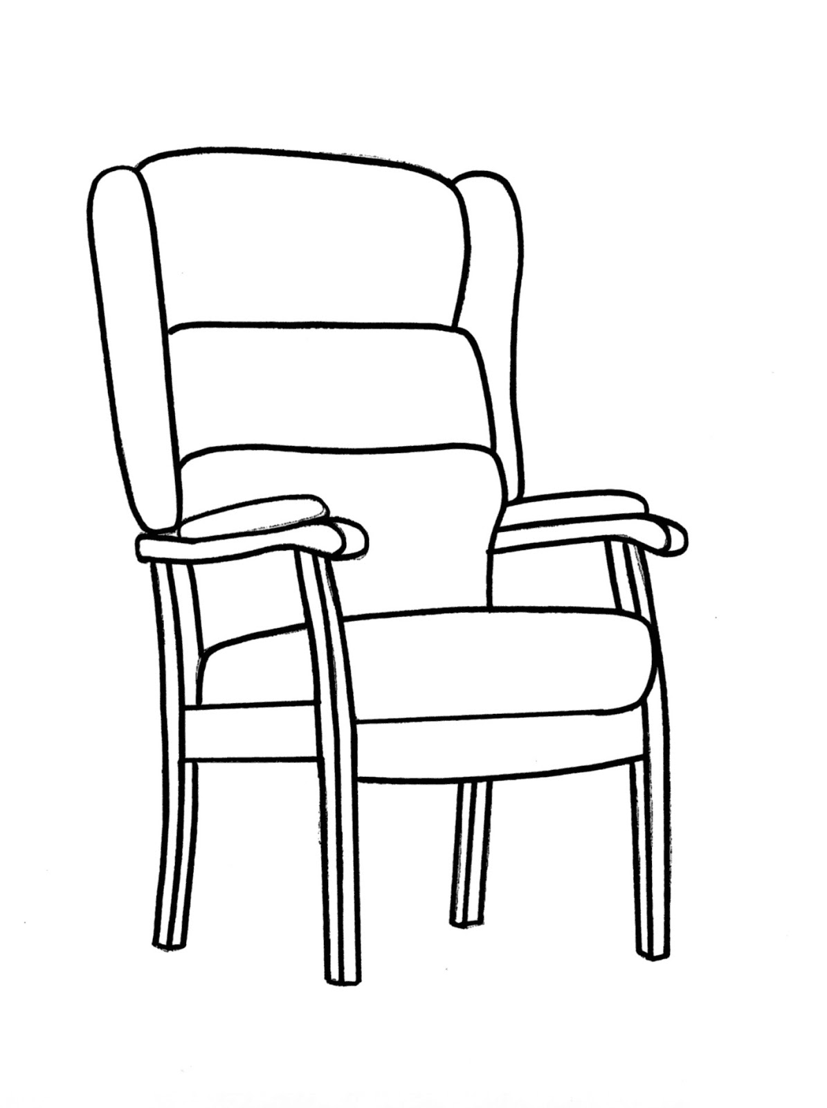 drawing of a chair beach chair drawing at getdrawings free download of a drawing chair