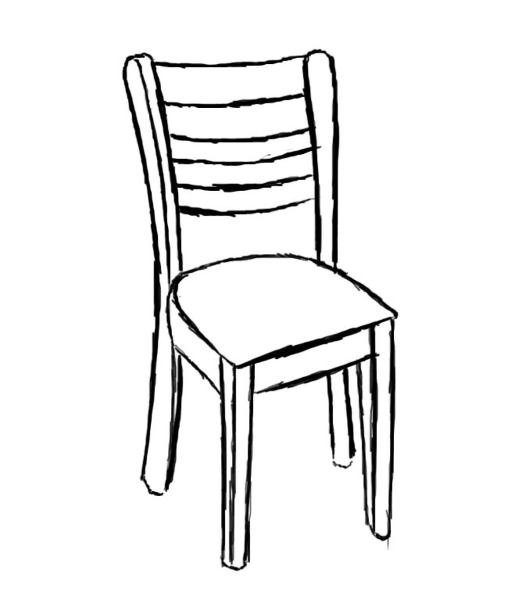 drawing of a chair electric chair drawing at getdrawings free download of drawing a chair