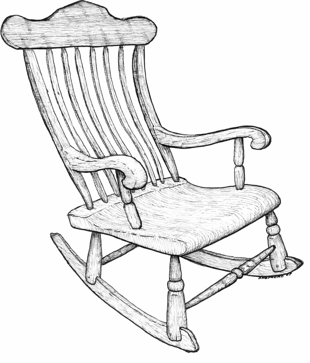 drawing of a chair how to draw a chair feltmagnet drawing a of chair