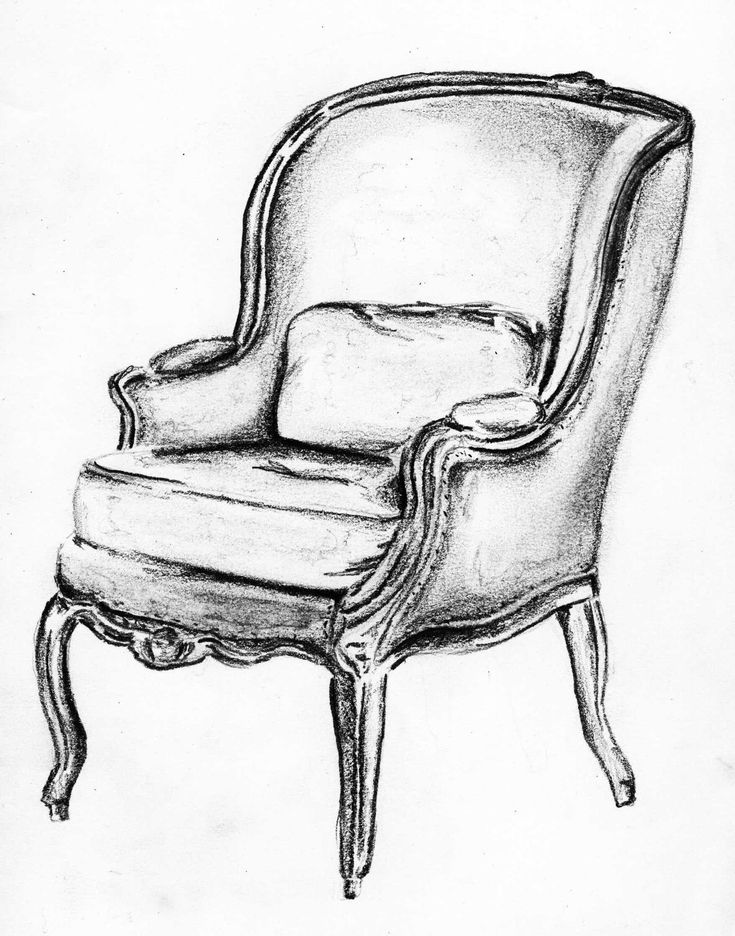 drawing of a chair rocking chair drawing at getdrawings free download a drawing of chair