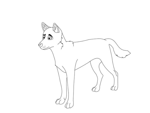 drawing of a dingo how to draw a dingo step by tutorial sketch coloring page drawing a dingo of