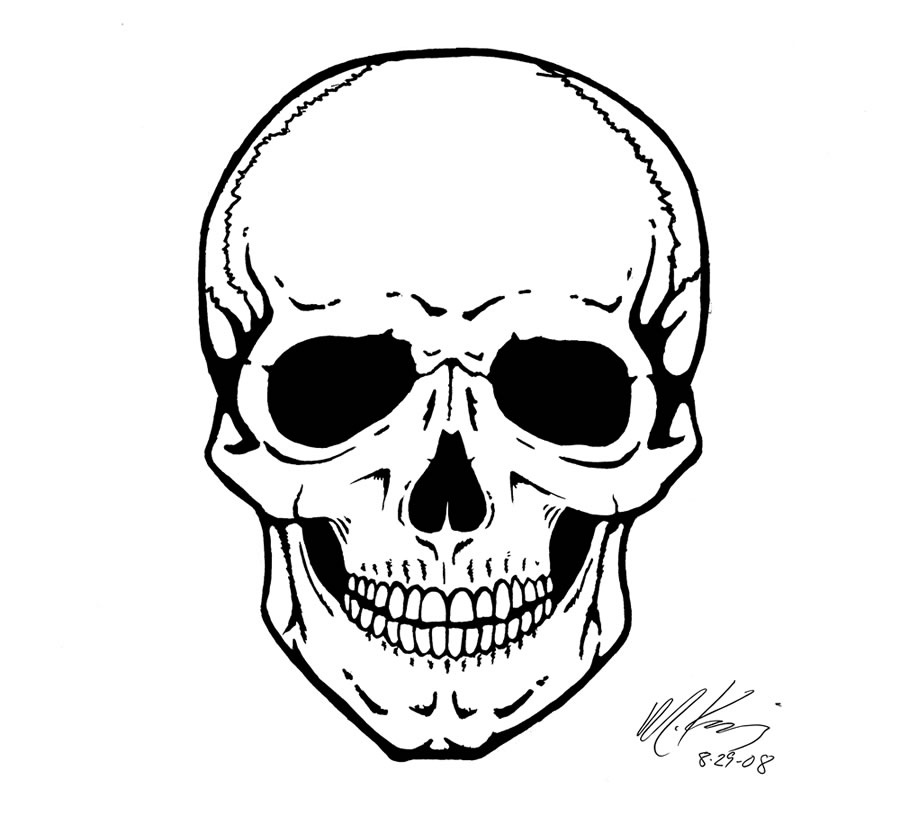 drawing of a human skull skull side view by traceyr on deviantart drawing a skull human of