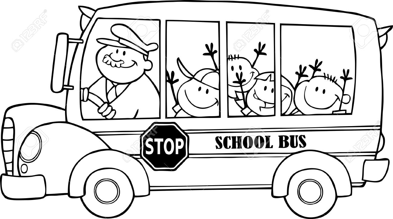 drawing of bus bus drawing images free download on clipartmag of bus drawing
