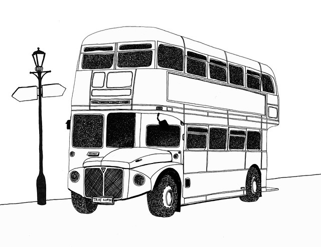 drawing of bus double decker bus drawing at getdrawings free download drawing bus of