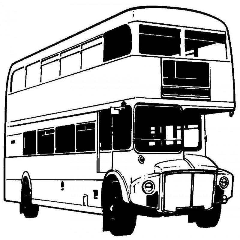 drawing of bus double decker bus drawing at getdrawings free download drawing of bus
