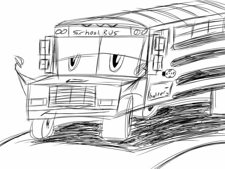 drawing of bus school bus drawing for kids free download on clipartmag of drawing bus
