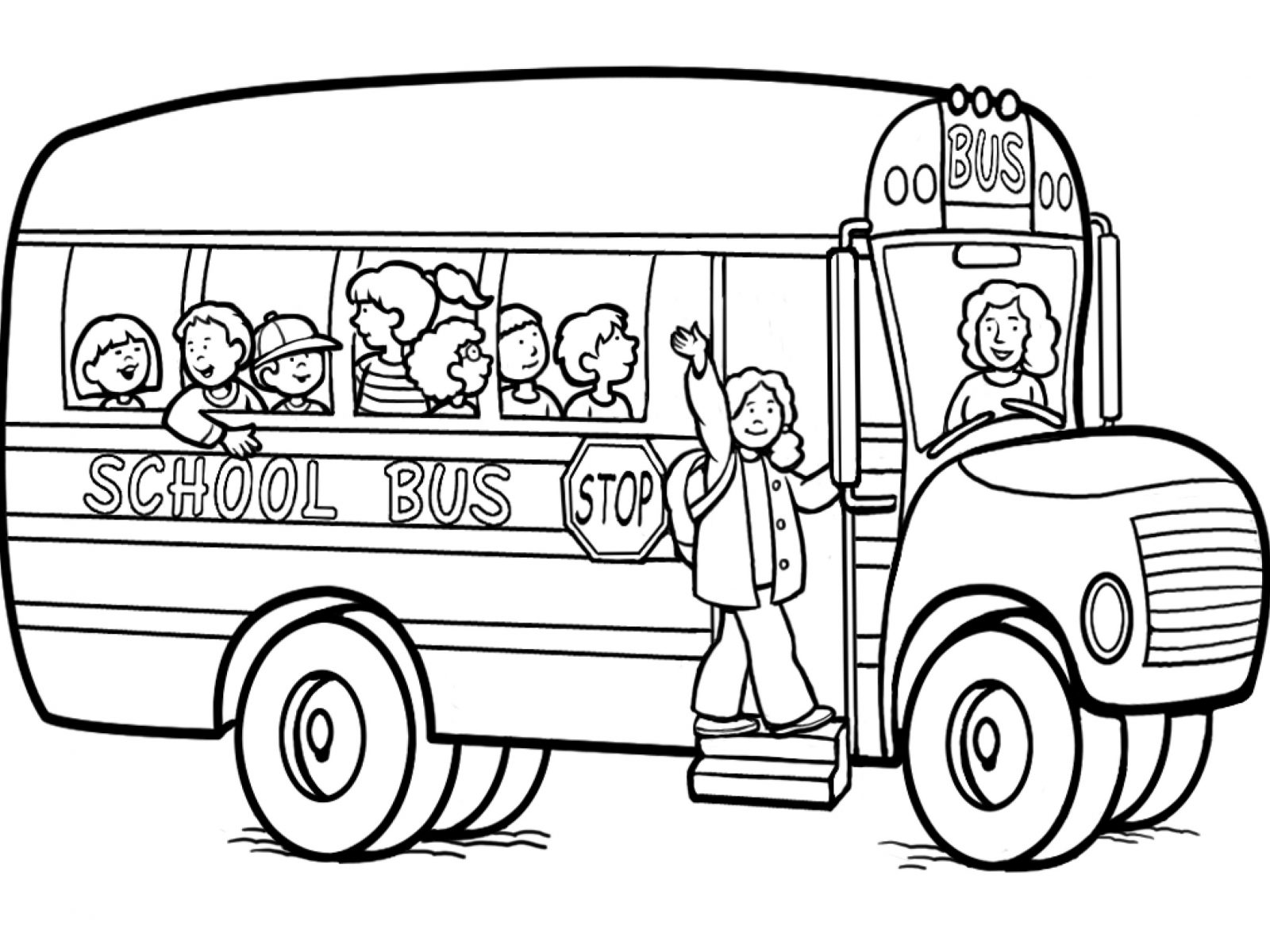 drawing of bus school bus pictures for kids coloring home of drawing bus