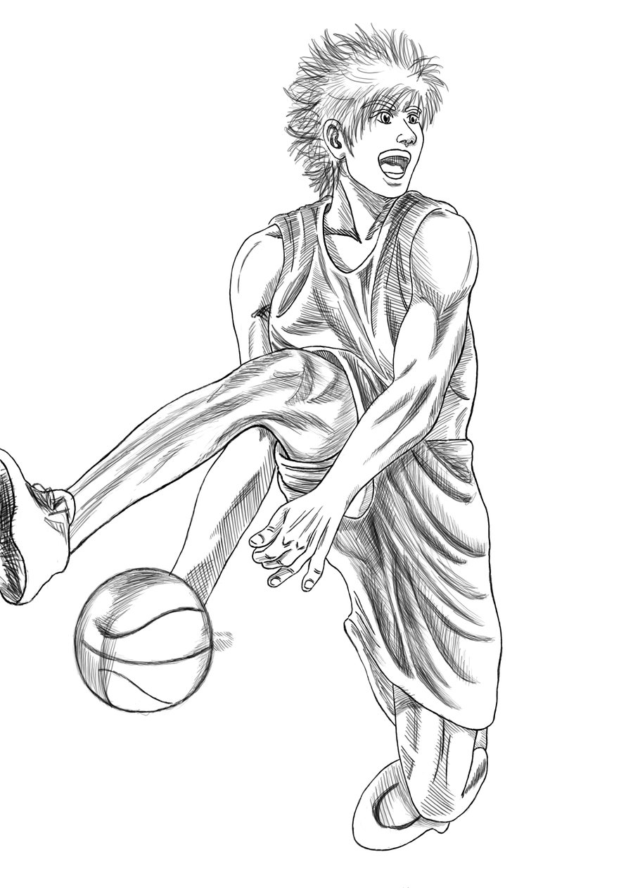 drawings of basketball players how to draw a basketball player step by step sports pop drawings basketball of players