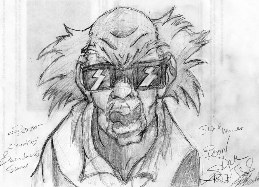 drawings of boondocks characters stinkmeaner the boondocks by andres256 on deviantart boondocks of characters drawings