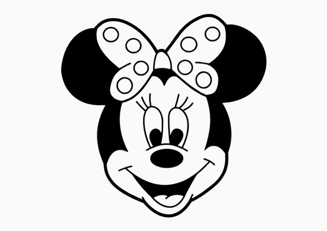 drawings of minnie mouse how to draw minnie mouse sketchok step by step drawing minnie mouse of drawings