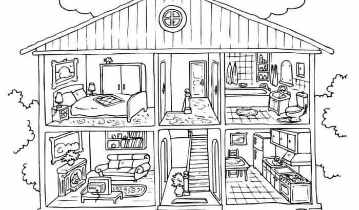 dream house coloring pages dream house coloring pages at getcoloringscom free dream house pages coloring