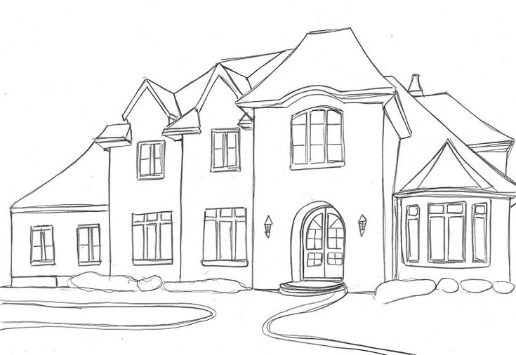 dream house coloring pages free printable house coloring pages for kids house pages coloring house dream