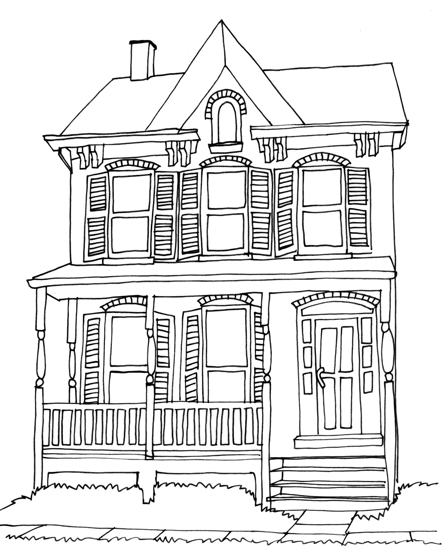 dream house coloring pages house from a child dream tanyalmera 123rf architecture pages house dream coloring